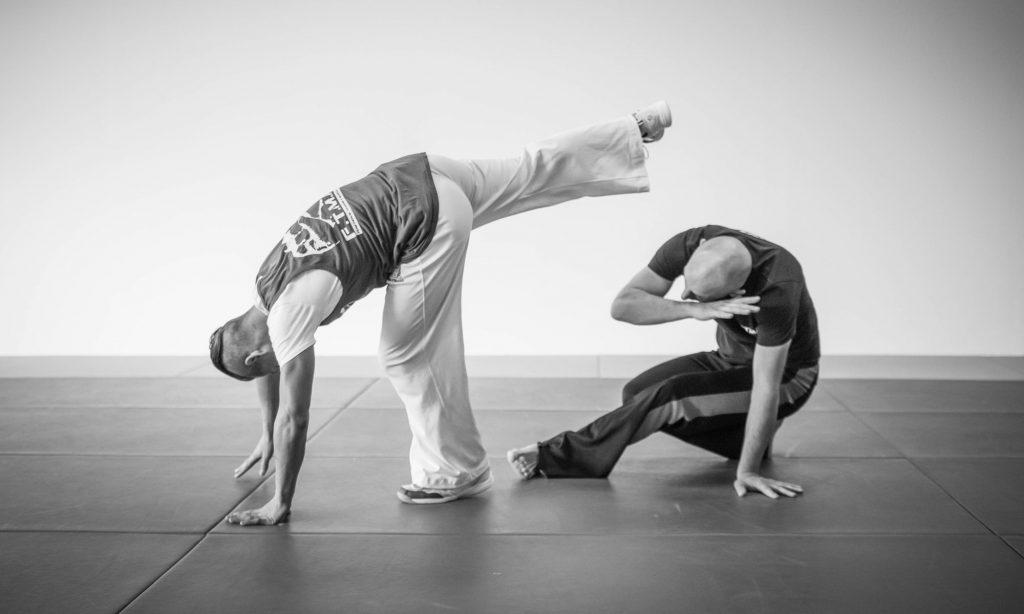 Capoeiralessen bij Evolve Movement x Health