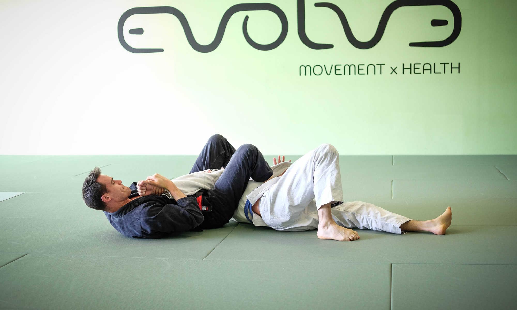 Braziliaans Jiu Jitsu training bij Evolve Movement and Health