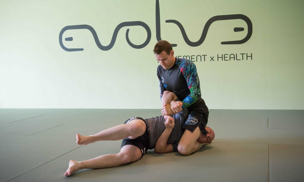 Grappling training bij Evolve Movement and Health