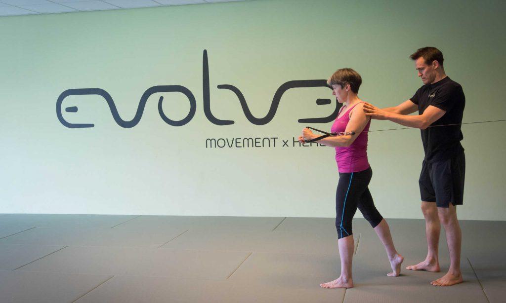 Personal training bij Evolve Movement x Health
