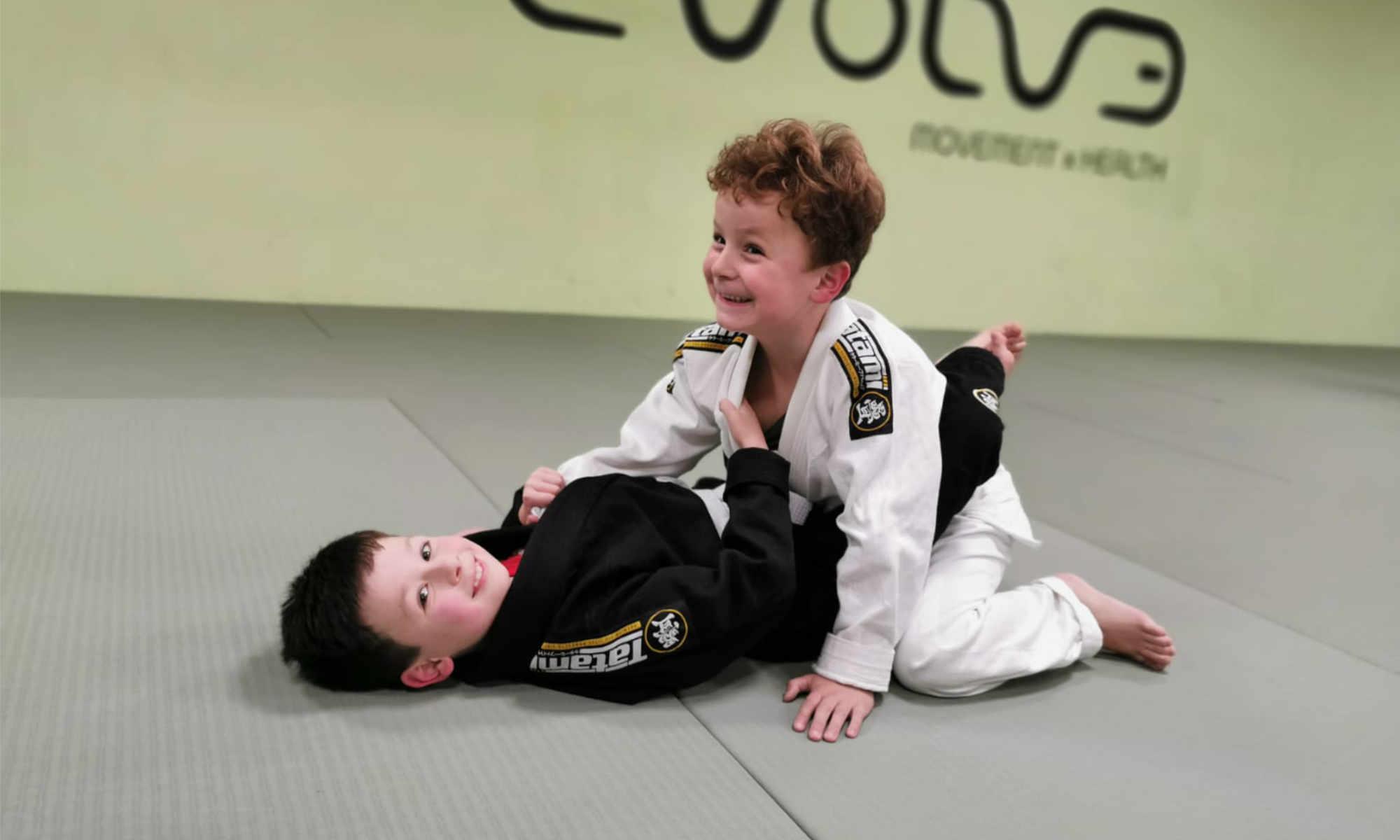 Braziliaans jiu jitsu voor kinderen